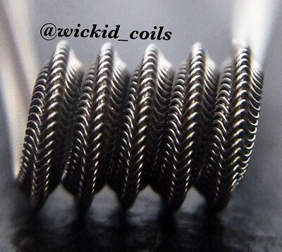 SALE! 2x N80 Mohawk Alien Coils + free coils! (Nichrome 80, Staple Killer)