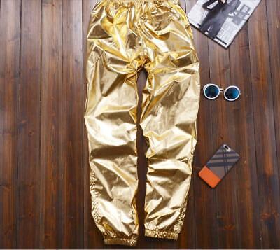 en Silber Gold Kostüm 8XL Nachtclub Hosen Übergröße Bühne  (Plus Größe Harem Kostüm)