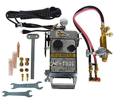 Hk-12 Torch Track Burner Portable Gas Cutting Machine Cutter 150-800mmmin 220v