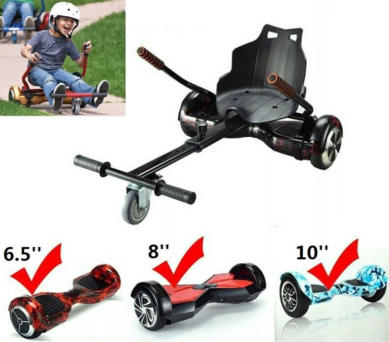 Adjustable Go Kart Car Hover Board Stand for Two Wheels Self