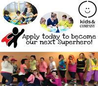 APPLY NOW: ECE + ECE/IT SUPERHEROES!! Join our Team!!