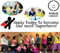 APPLY NOW: CHILD CARE SUPERHEROES (Looking for ECE!!!)