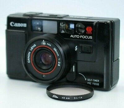 【Near Mint TESTED】Canon AF35M 35mm Film Camera 38mm f/2.8 Lens From Japan # 428