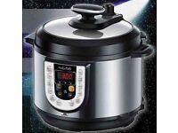 Beaumark Hot-Pot Speed Cooker Digital Pressure Cooker (Model No. BM888HP).... brand new