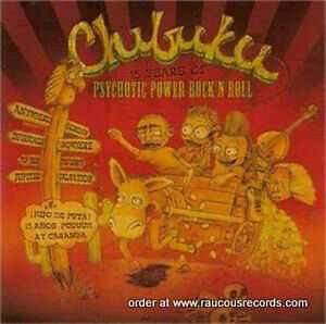 CHIBUKU-15-Years-Of-Psychotic-Power-Rock-n-Roll-CD-PSYCHOBILLY-Punkabilly-NEW