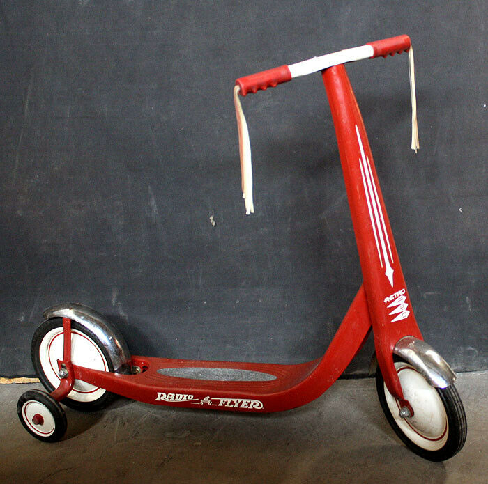 Vintage Retro Red