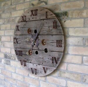 Cable Spool Clocks Kitchener / Waterloo Kitchener Area image 4