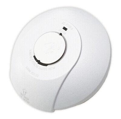Mains Smoke Alarm Detector 240V Battery Back Up Linked Photoelectric Free P&P