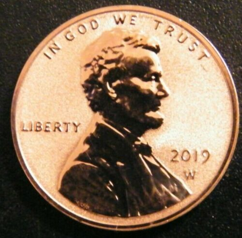 2019 W Reverse Lincoln Shield Cent Gem Penny From Proof Priced to Sell
