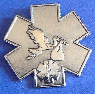 STORK  EMS  DEPT PIN EMT PIN STORK & BABY PIN