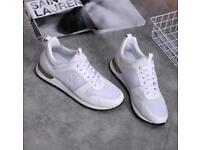 Louis Vuitton White Trainers UK 9