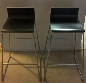 Two Bar stools chairs