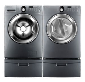 Samsung digital front load laundry set