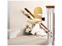 BRAND NEW Brooks Straight Stairlifts Supplied & Fully Fitted £1375 inc. 12 months Warranty