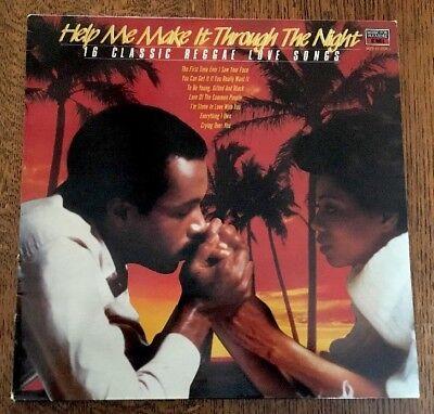 HELP ME MAKE IT THROUGH THE NIGHT - REGGAE LOVE - 1985 VINYL ALBUM - MFP 41 5708