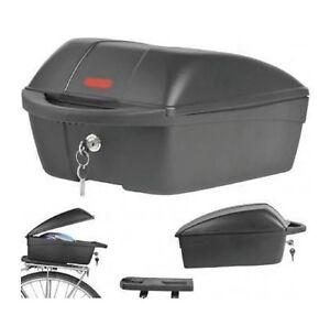 Polisport Topcase Fahrradbox Fahrradkoffer Fahrrad Top Case abschließbar Neu