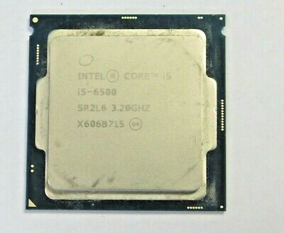 Intel® Core™ i5-6500 Processor 6M Cache, up to 3.60 GHz
