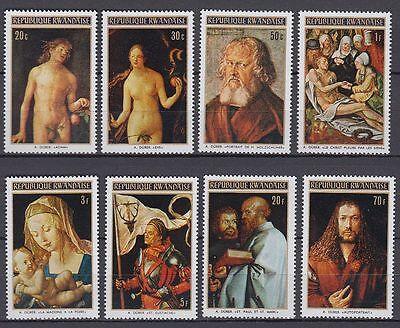 Ruanda Rwandaise 1971 ** Mi.465/72 A Gemälde Paintings Dürer [sq4940]