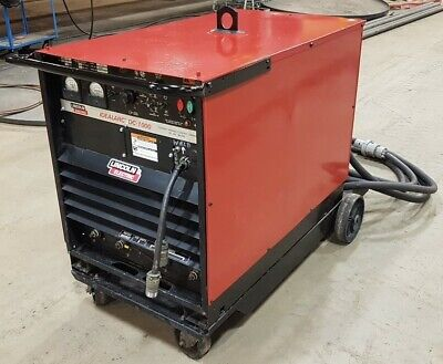 Lincoln Electric Dc1000 Idealarc Welder Submerged Arc Welding Mig K1386-4