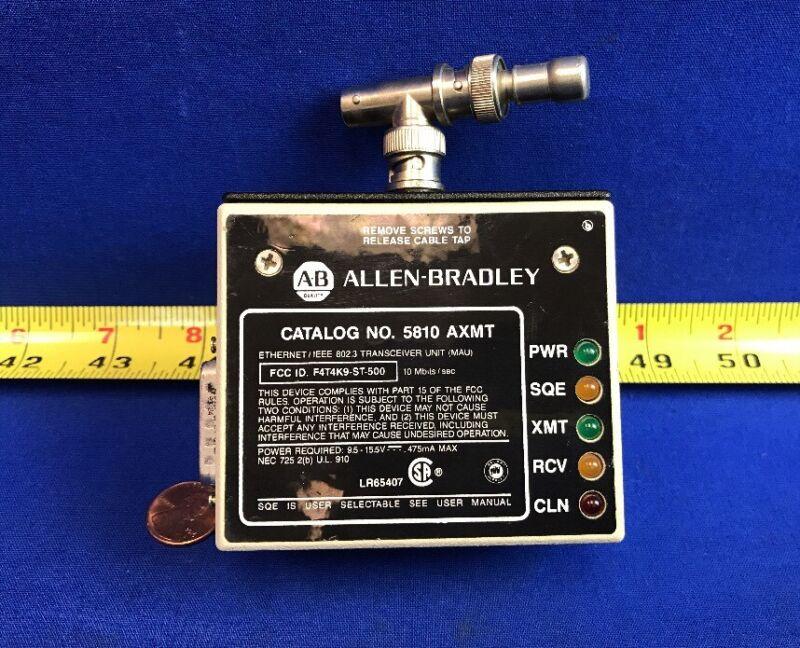 ALLEN BRADLEY 5810-AXMT ETHERNET/IEEE 802.3 TRANSCEIVER UNIT