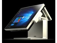 Epos till complete solution with touch screen package with drawer and printer