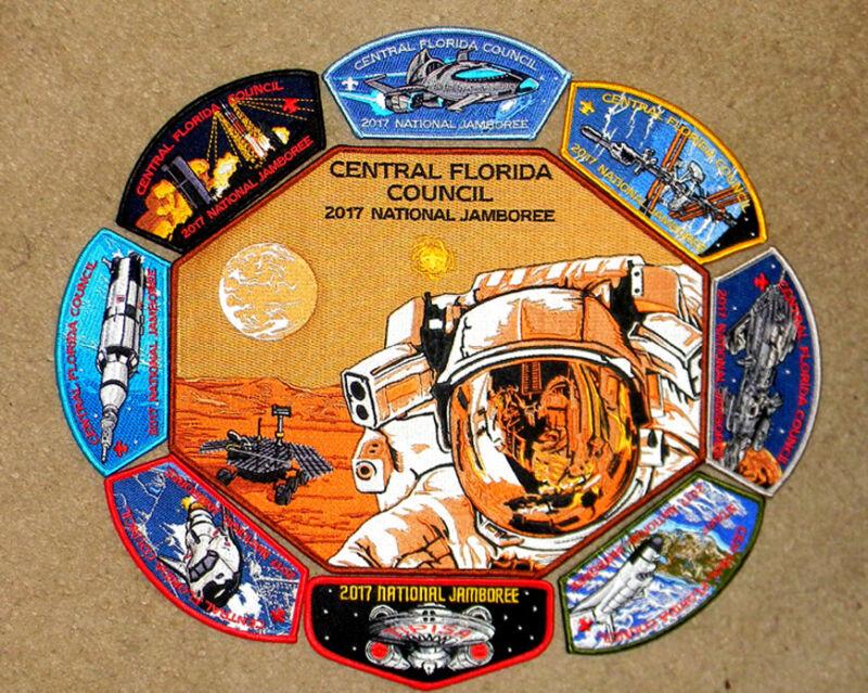 "Central Florida Council 2017 National Jamboree ""SPACE"" Set"
