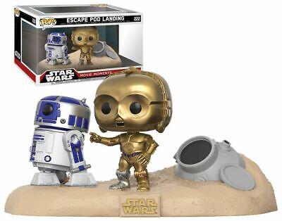 "Funko Pop! Star Wars Movie Moments #222 Escape Pod Landing Bonus K-2SO Plush 3"""