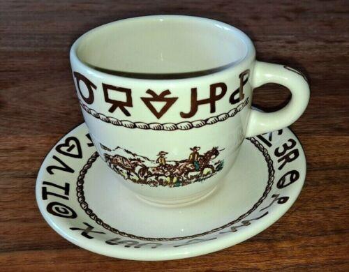 Westward Ho Cup & Saucer