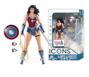 Wonder Woman collector action figure Icon series, dc comics, $25