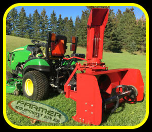 3 point hitch SNOW BLOWERS for sub-compact tractors IN STOCK NOW