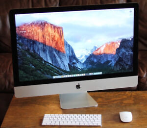 """iMac 27"""" for just $1599 - Fusion Drive - includes warranty"""