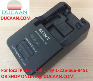 GENUINE Sony BCTRX Battery Charger for X/G/N/D/T/R and K Series