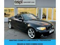 2013 BMW 1 Series 2.0 118I EXCLUSIVE EDITION 2d 141 BHP Convertible Petrol Autom