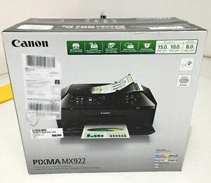 ==Unopened==Canon PIXMA MX922 Wireless All-in-One CD Printer