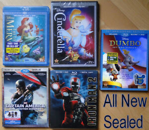 Lot of Kids Movies. Over 70 movies, 5 New, Disney, Dreamworks