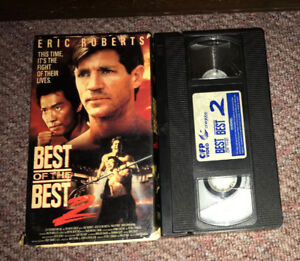 Vintage 90's Action Martial Arts VHS Movie Best of the Best 2