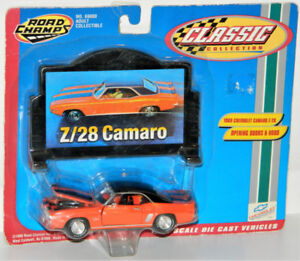 Road Champs 1/43 1969 Chevrolet Camaro Z-28 Diecast Car