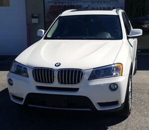 BMW X3 28I, XDRIVE, PREMUIM, TECH PKG, TOIT PANORAMIQUE 2014