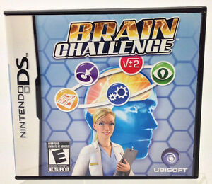 Nintendo DS - BRAIN CHALLENGE by Ubisoft or lot of 11 games