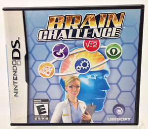 Nintendo DS - BRAIN CHALLENGE by Ubisoft or lot of 11 games West Island Greater Montréal image 1