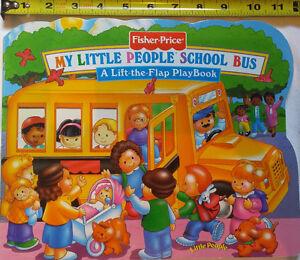 Fisher Price Little People School Bus BOARD Book