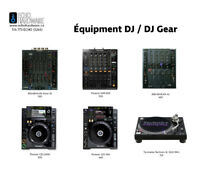LOCATION D'ÉQUIPEMENT DE DJ / DJ EQUIPMENT RENTAL