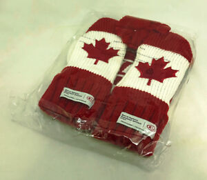 Canada Special Olympics Mitts & Toque (new / sealed)