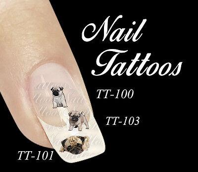 welpe Hund Tiere Motiv auswahl TT-105a (Welpen Tattoos)