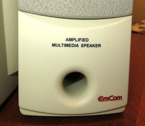 EMCOM Multimedia Subwoofer Speakers in excellent Condition Gatineau Ottawa / Gatineau Area image 5
