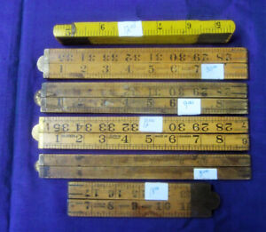 VINTAGE Rules,  Scrapers,  Knives, Wrenches, Canoe Blocks