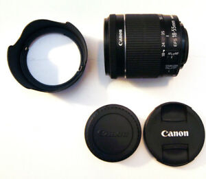 Canon EF-S 18-55mm f/3.5-5.6 STM IS Lens Silent AF for Video