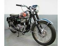 1957 BSA A7 total rebuild stunning ,stainless rims touring Rocket gold star look