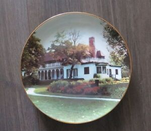 Stephen Leacock Home Orillia Collection Plate