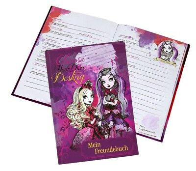 Ever After High Freundebuch A5